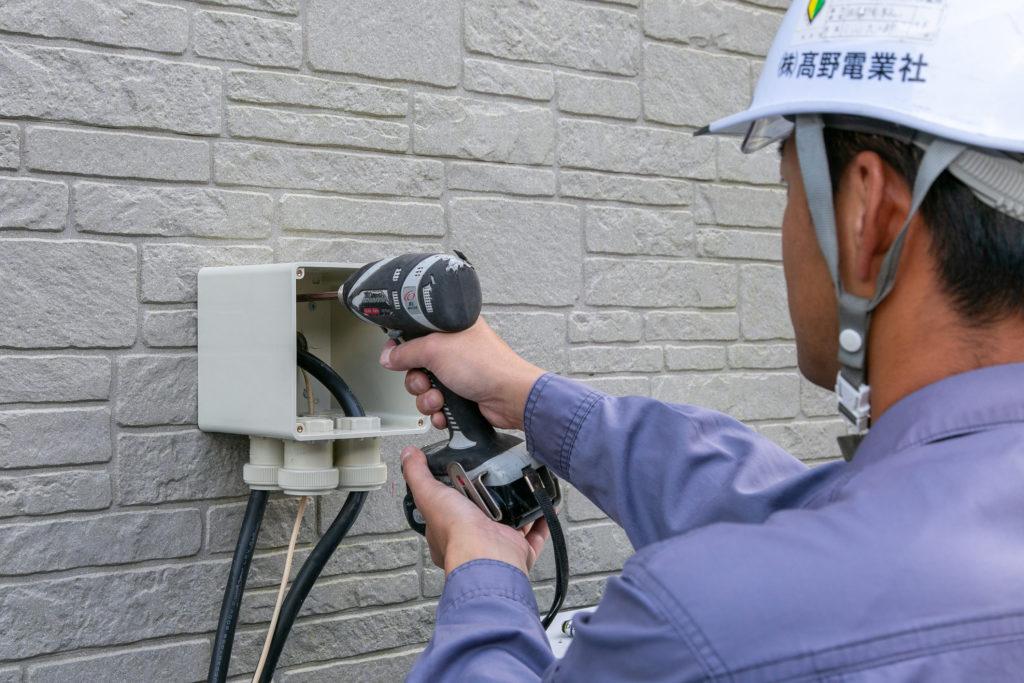 髙野電業社では電気工事のプロになりたい方を応援しております